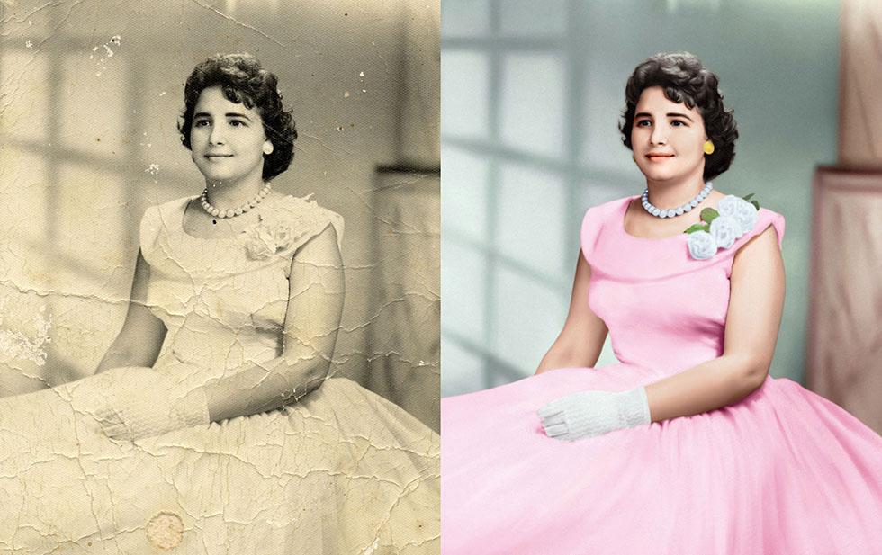 2 photo restoration