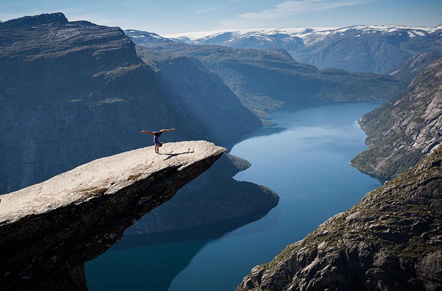 20 trolltunga rock nature photography