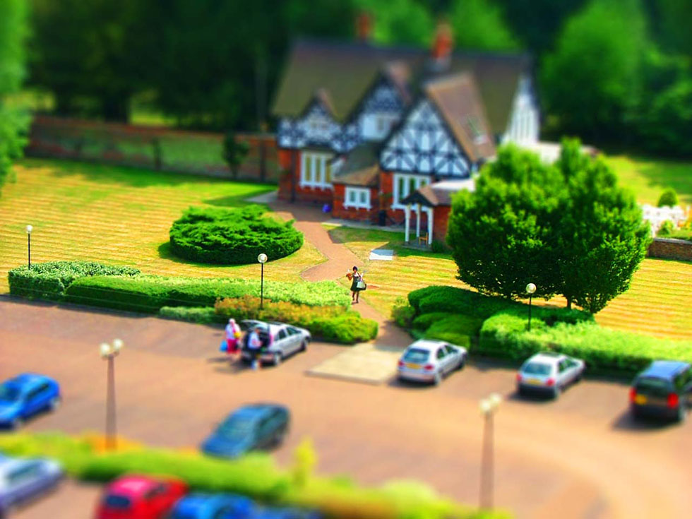 tilt shift photography -  21