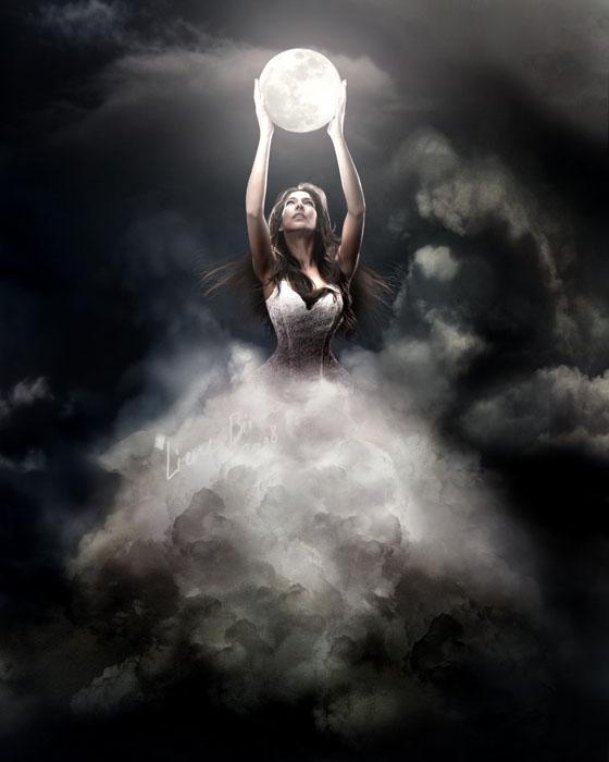 22 moon fairy fantasy photography