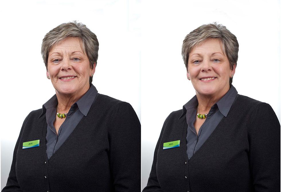 woman photo retouching -  22