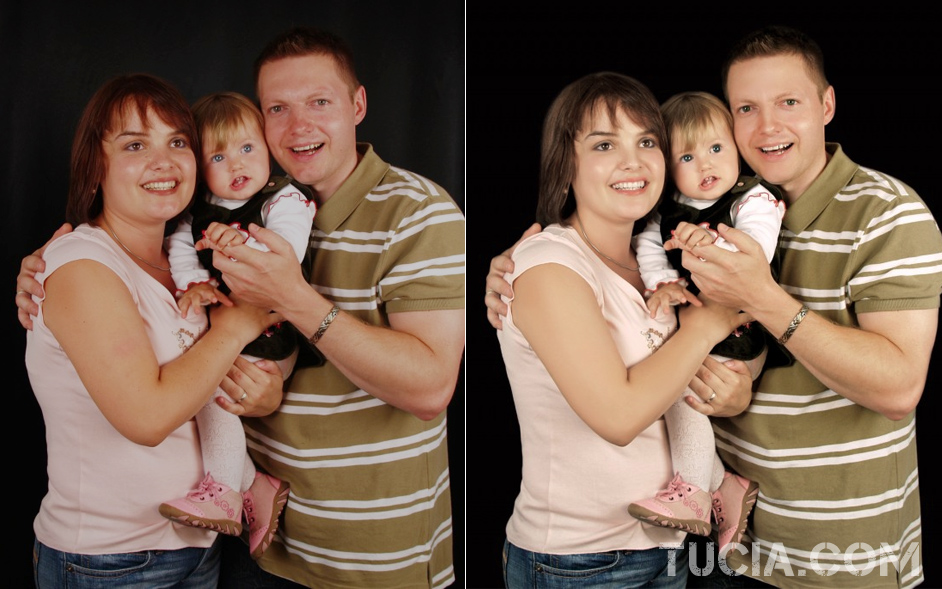 23 family photo retouching