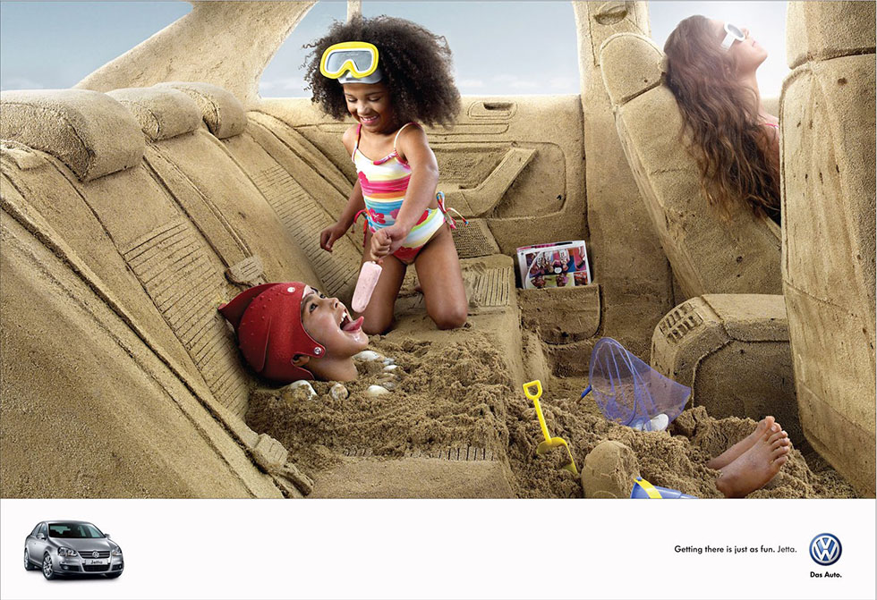 25 volkswagen advertising photography