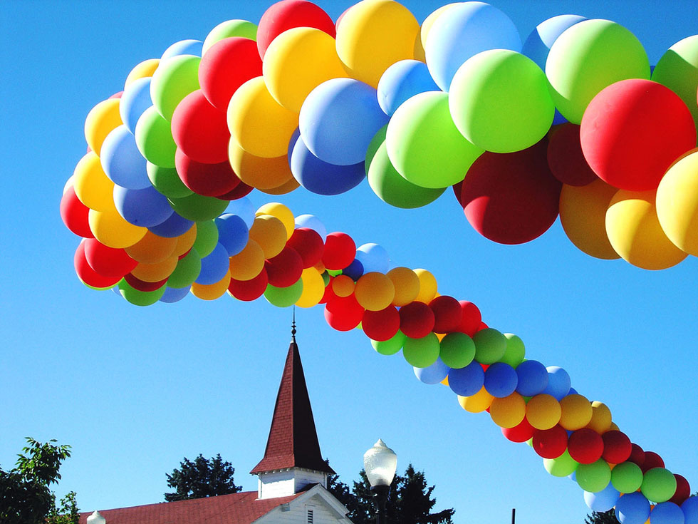 3 balloon colorful photography