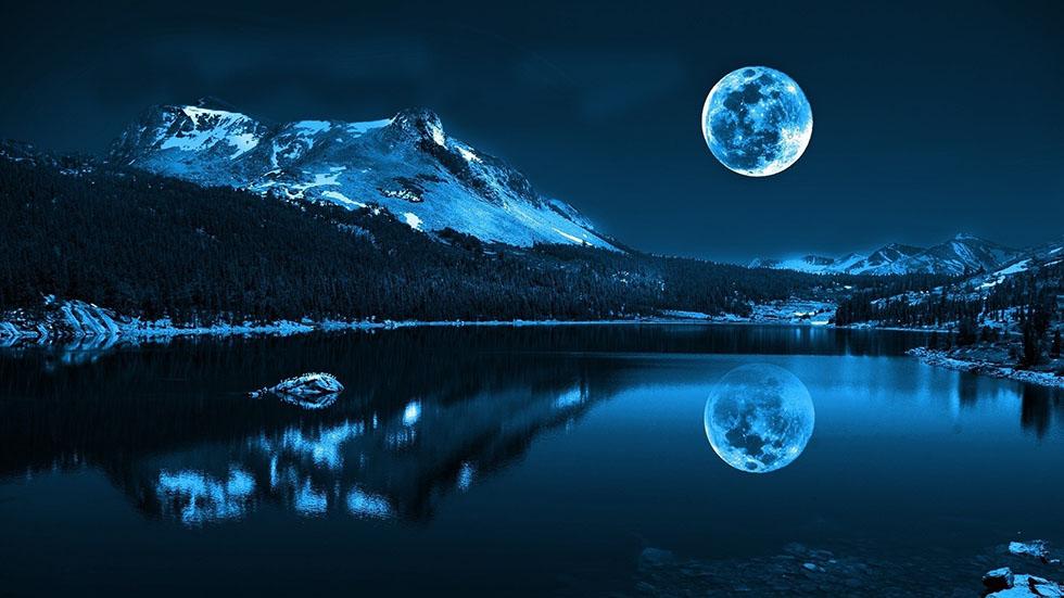 3 moon photography