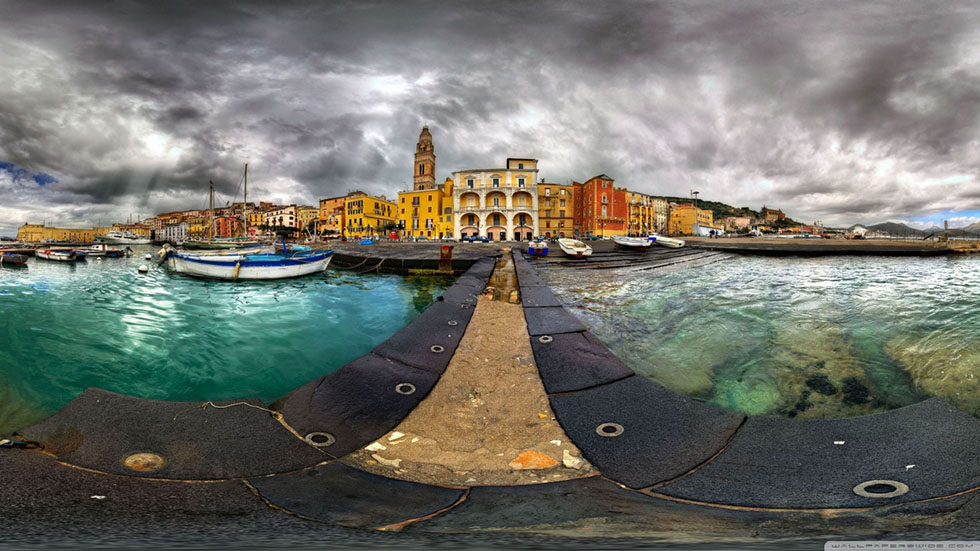 6 fisheye panoramic photography