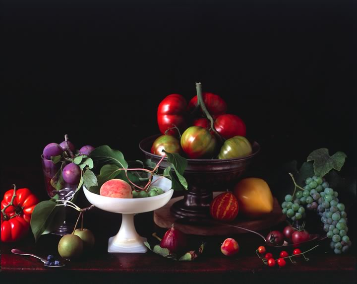6 fruits still life photography