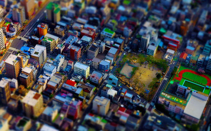 9 tilt shift photography