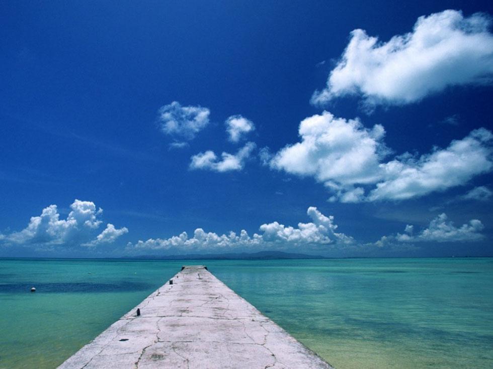 beach sky photography