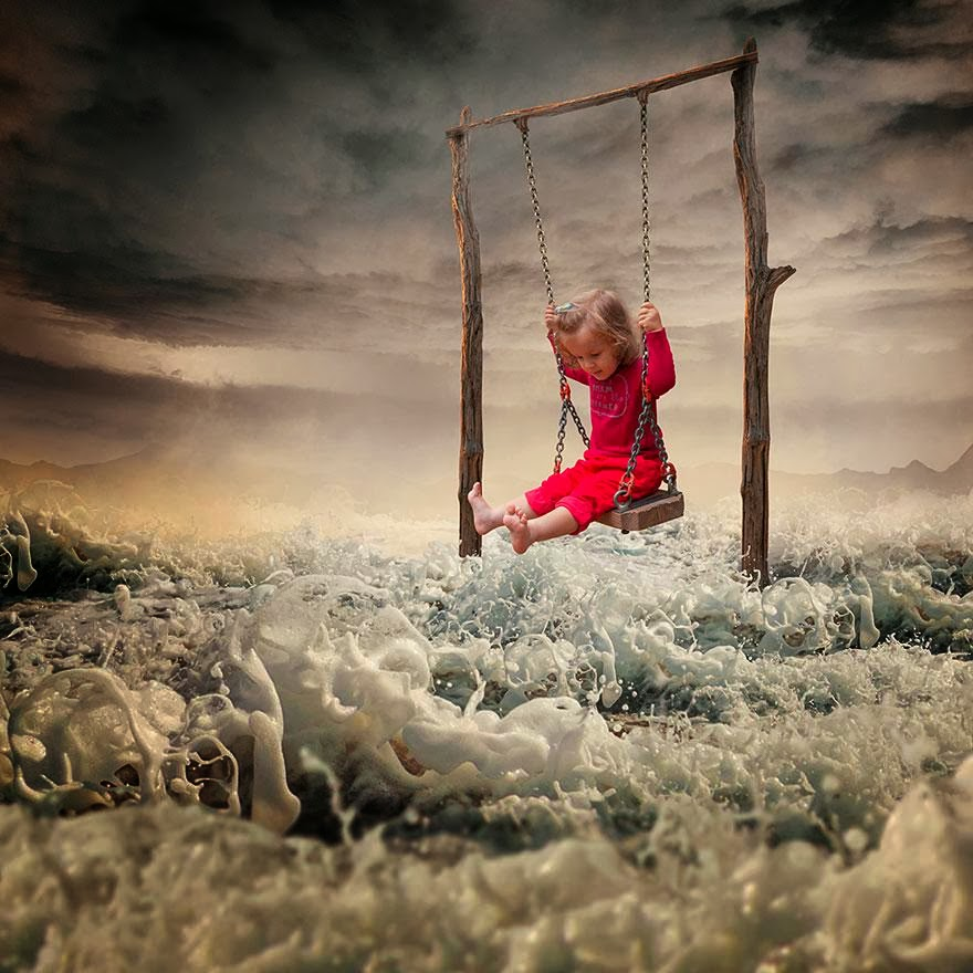child surreal photography