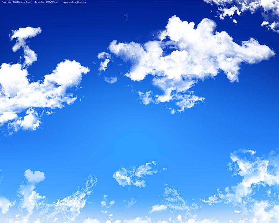 clear sky photography