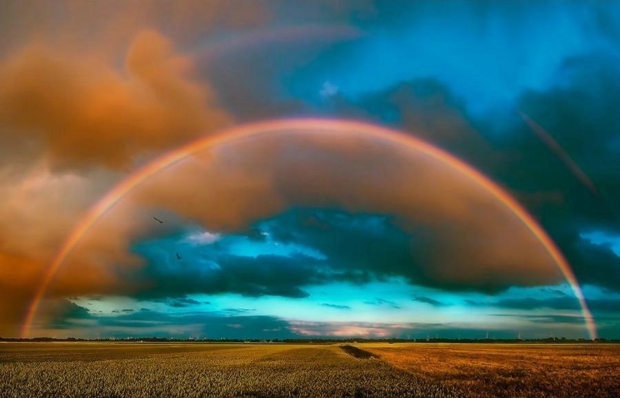 colourful rainbow photography