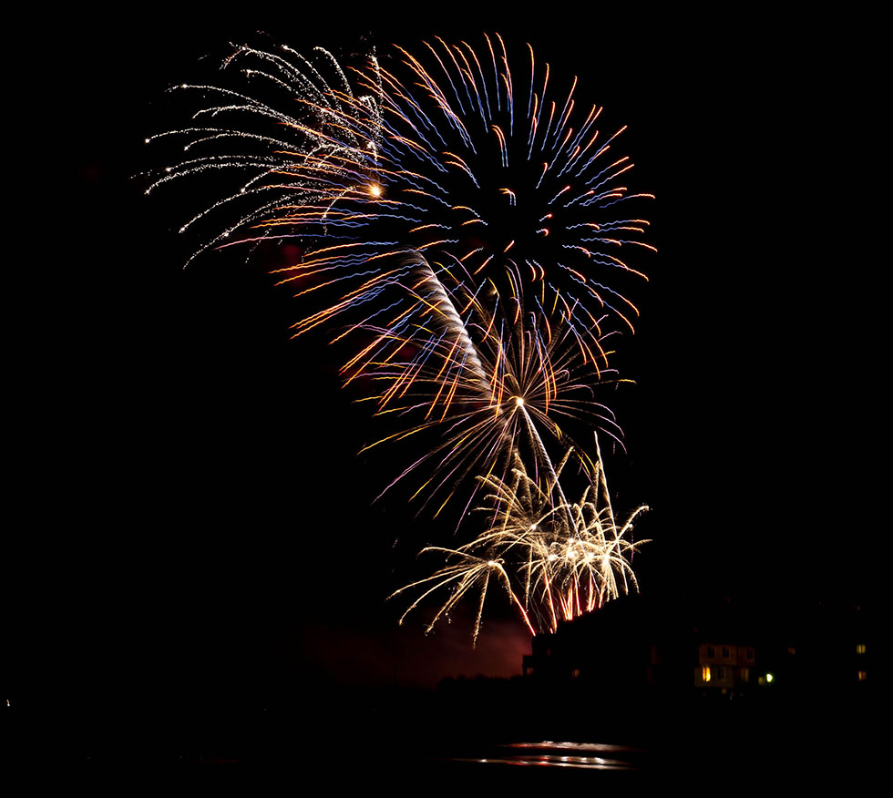 firework photography