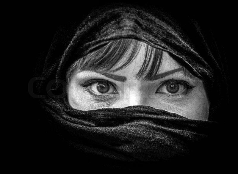 potrait black white photography