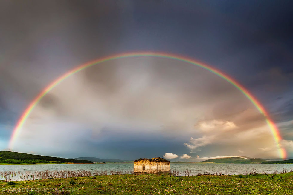 rainbow photography church