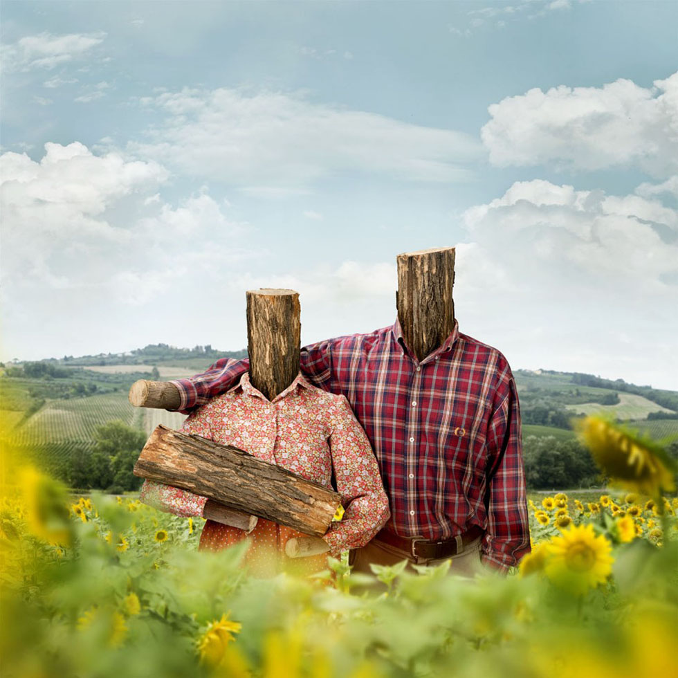 wood surreal photography
