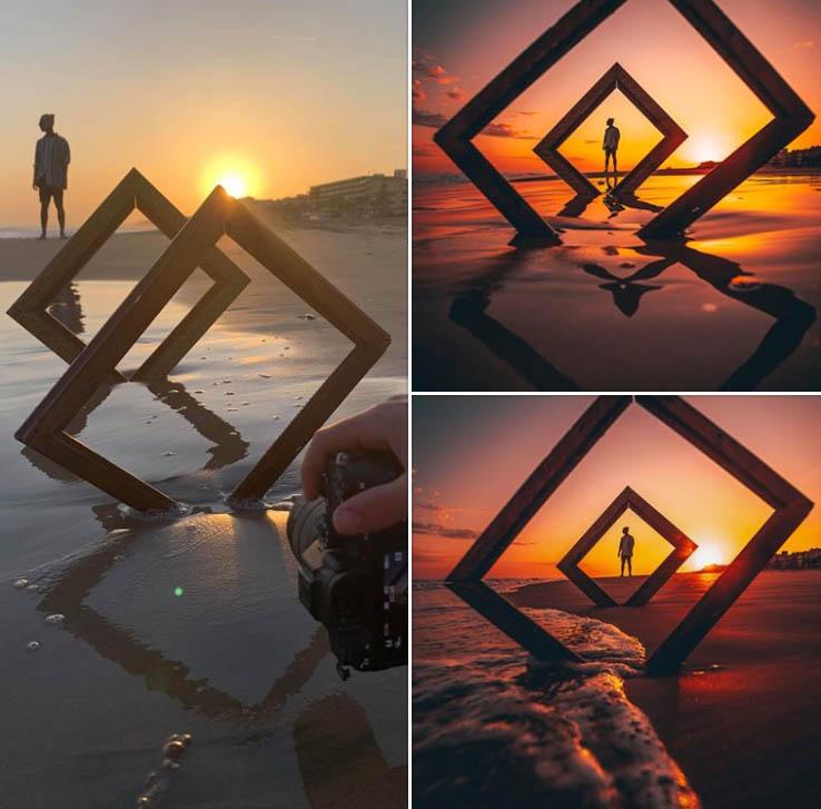 photography idea frames by jordi koalitic