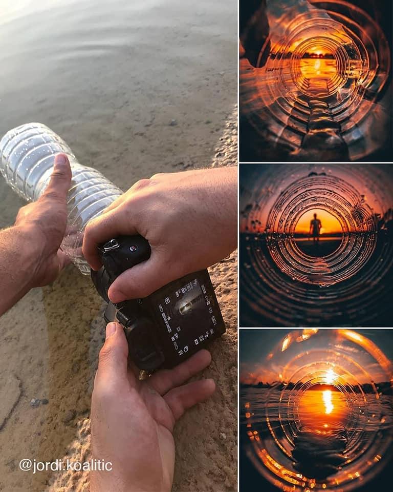 photography idea waterbottle by jordi koalitic