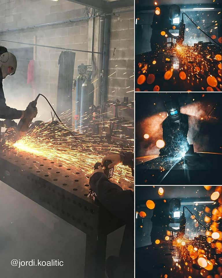 photography idea welding by jordi koalitic