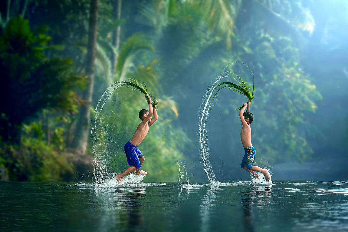 beautiful boys playing photography by ipoenk graphic