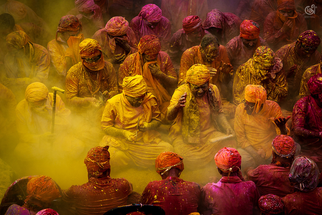 travel photography india holi