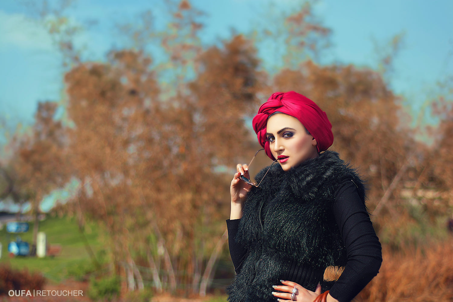 fashion photography woman by yousef mohamed