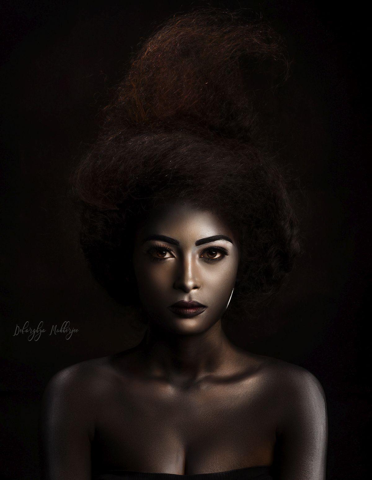 portrait photography silver by debarghya mukherjee
