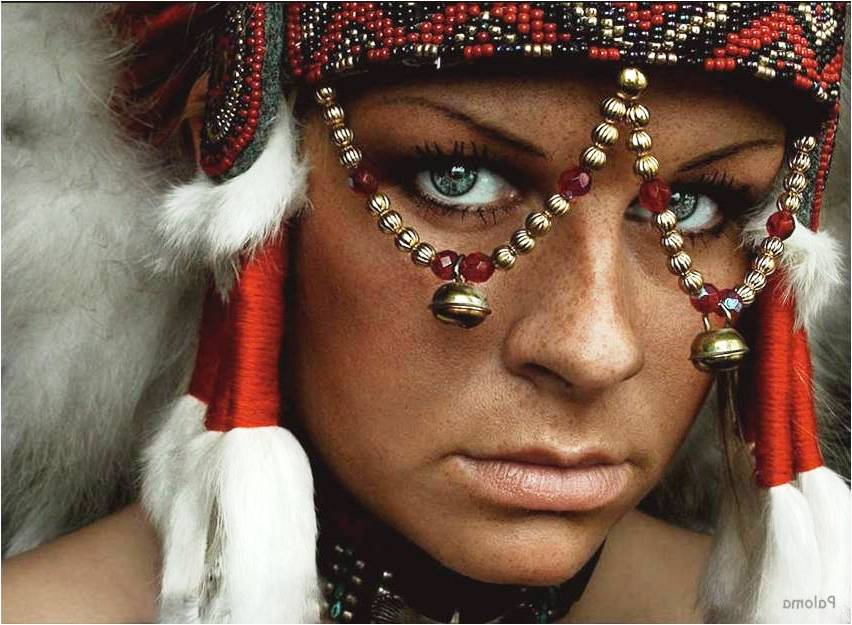 beautiful women photography tribal by andrew