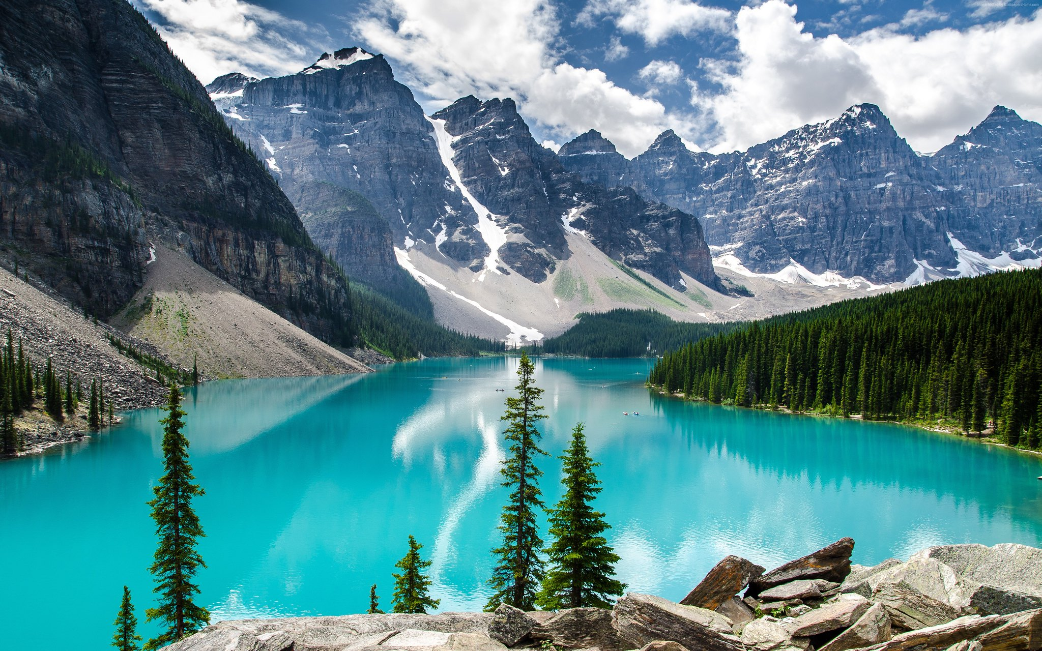 nature photography mountain blue lake by sam brettell