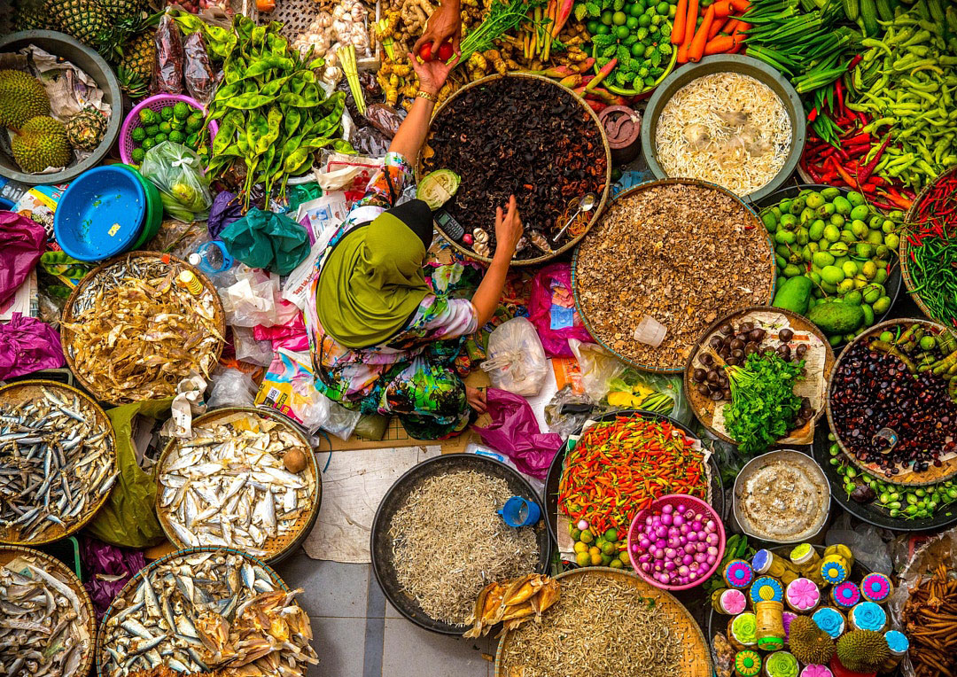 travel photography market colorful market by duratul ain