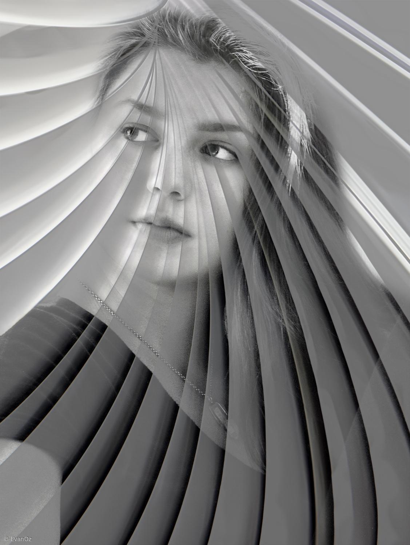 black white photography enigma by evan oz