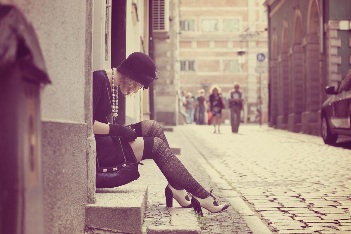 22 vintage photography retro girl by sergey vyugin