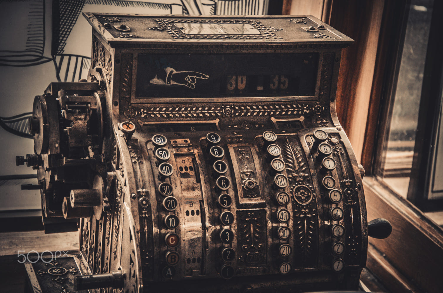 7 vintage photography cash register by nataly nevermind