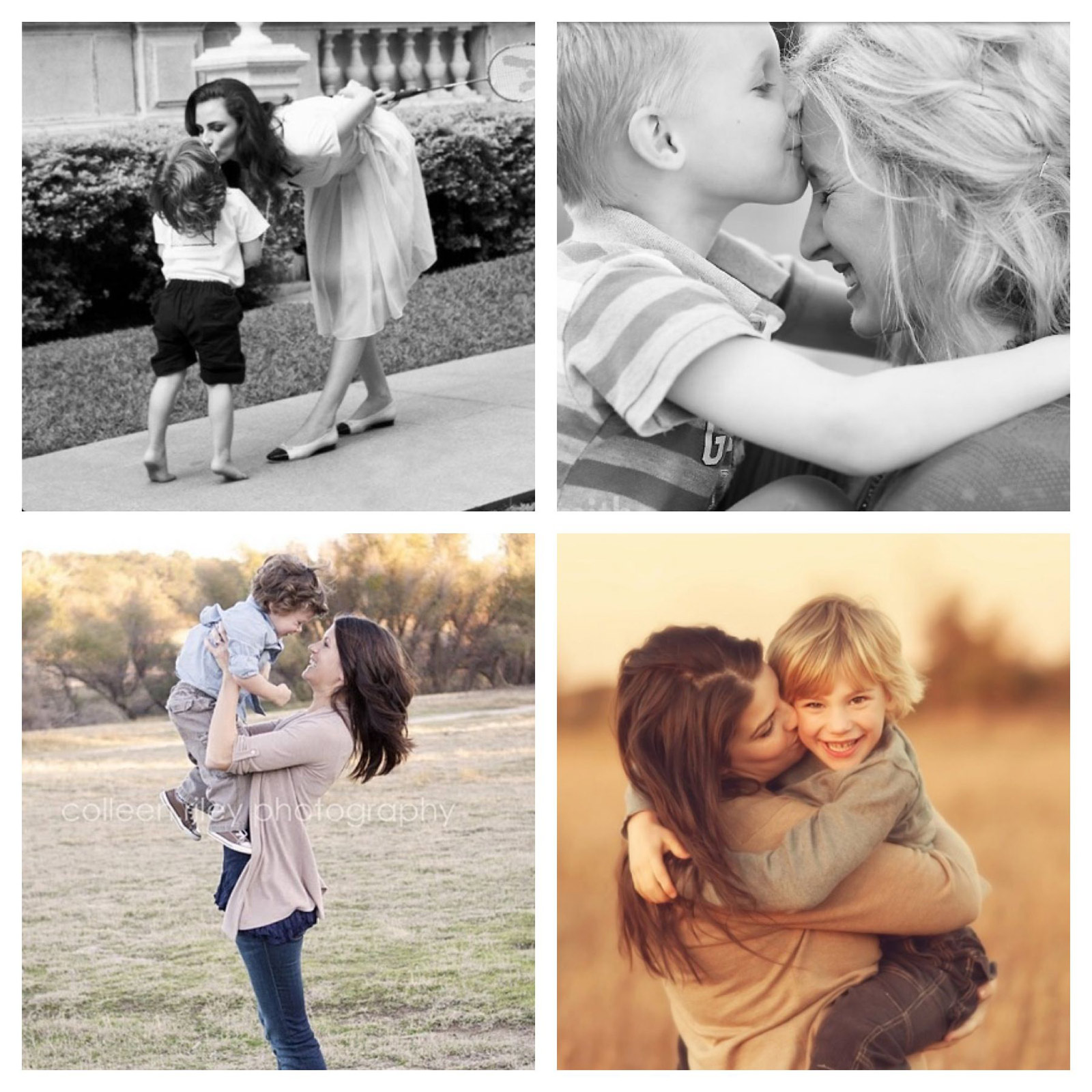 9 mother son photography pose idea