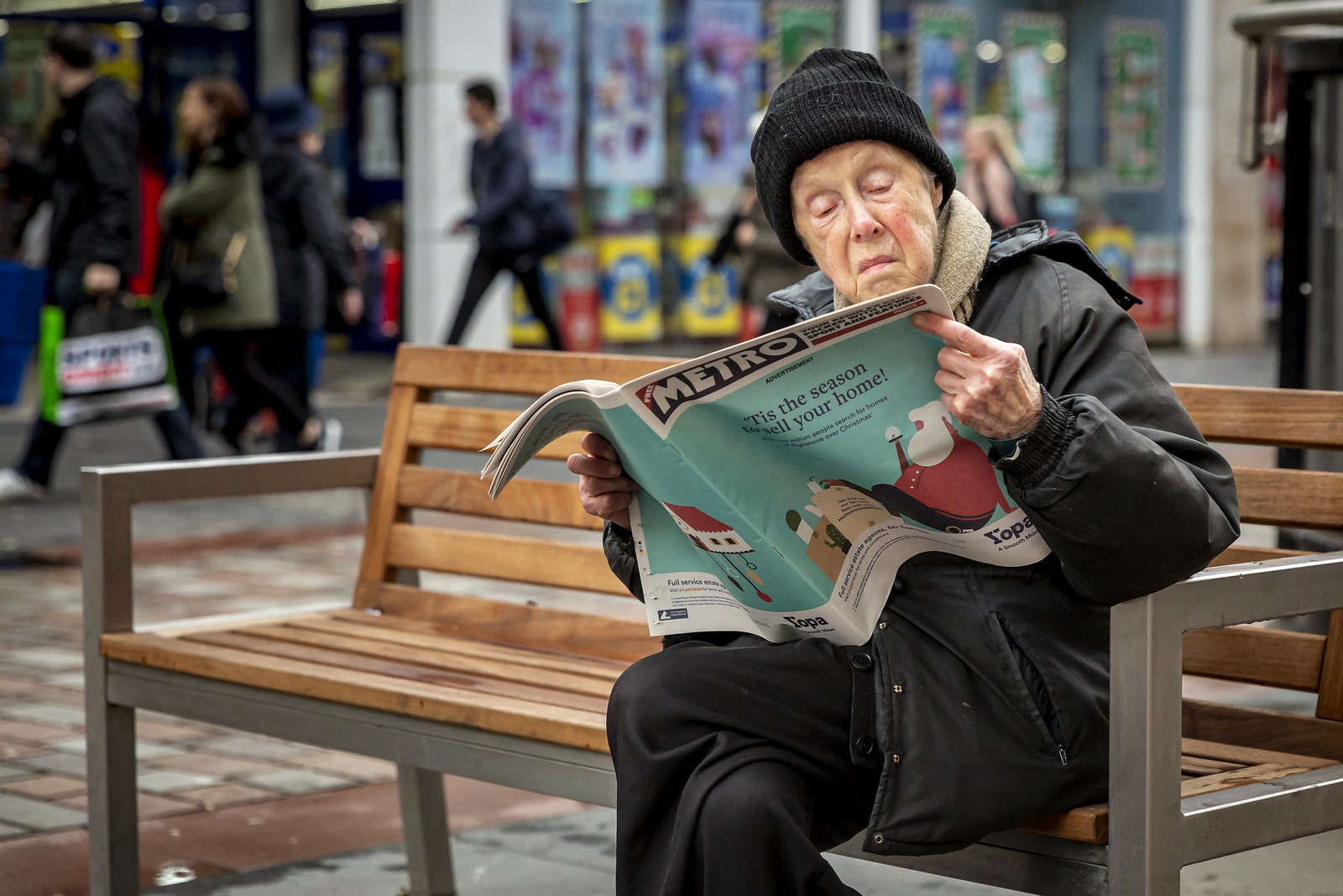 candid photography newspaper by leanne boulton