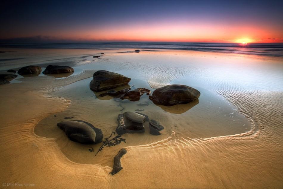 sunrise photography coffee rocks by mel brackstone